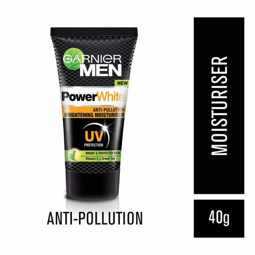 Picture of garnier men Power White Anti Pollution Brightening Moisturiser UV Protection cream 40 g