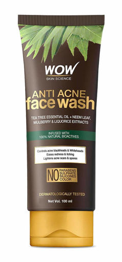 Picture of wow skin science anti acne face wash 100 ml
