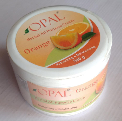 Picture of opal herbal all purpose cream Orange refreshing moisturizing, 500g