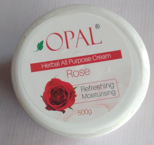 Picture of opal herbal all purpose cream Rose refreshing moisturizing, 500g