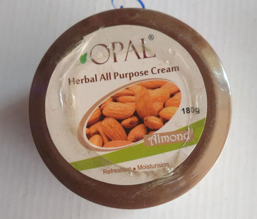 Picture of opal herbal all purpose cream Almond refreshing moisturizing, 180g