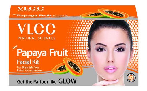 Picture of VLCC Papaya Fruit Facial Kit, 60g