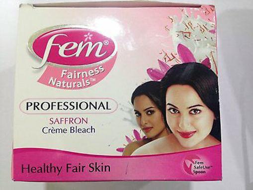 Picture of Fem Professional Saffron Crème Bleach, Healthy Fair Skin 314.4g