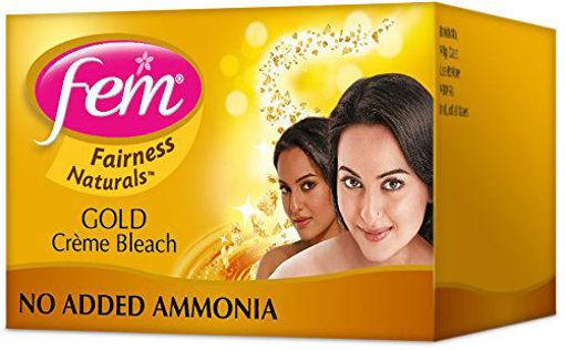 Picture of FEM Frirness Naturals Gold Creme Bleach, 8g