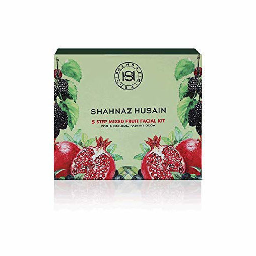 Picture of Shahnaz Husain 5 Step Mixed Fruit Facial Kit