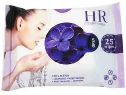 Picture of Hilary Rhoda Refreshing Facial Wipes - LAVENDER