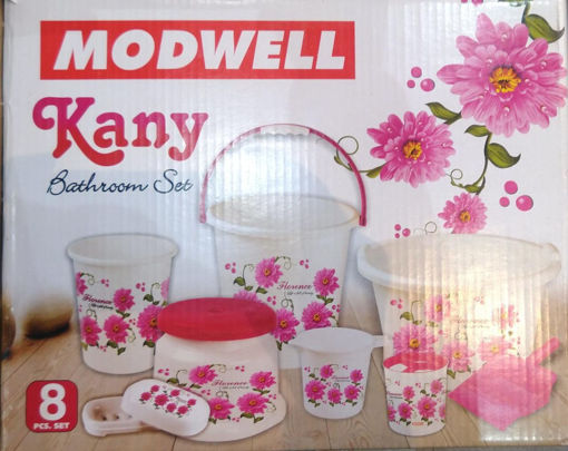 Picture of MODWELL BATHROOM SET 8PC