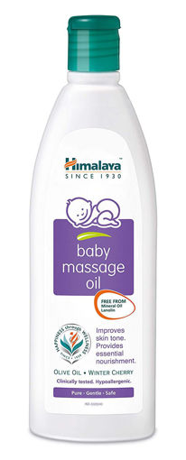 Picture of Himalaya Herbals Baby Massage Oil, 50ml