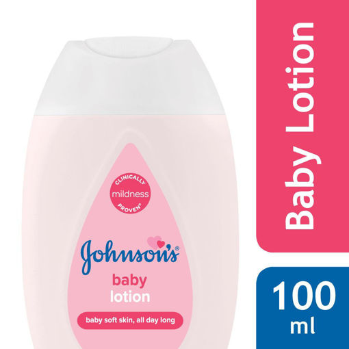 Picture of johnson's baby lotion 100 ml