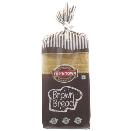 Picture of top 'n town Brown bread 300g