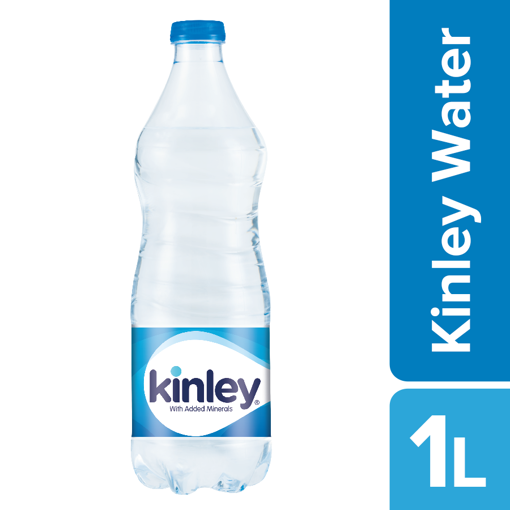 Picture of Kinley Drinking Water With Added Minerals, 1L Bottle