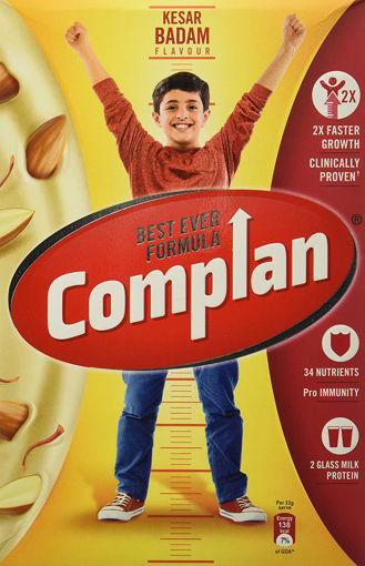 Picture of Complan Nutrition and Health Drink Kesar Badam, 500g (Carton)