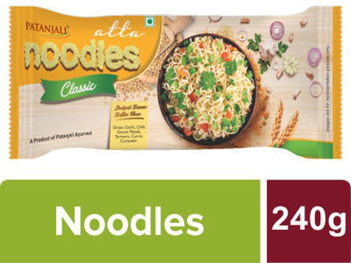 Picture of Patanjali Atta Noodles Classic -Family Pack 240 g