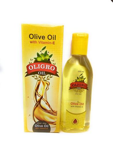 Picture of OLIGRO BODY MASSAGE OIL Olive Oil with Vitamin-E 100ml