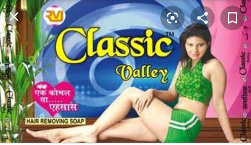 Picture of classic valley hair removal soap, 45g