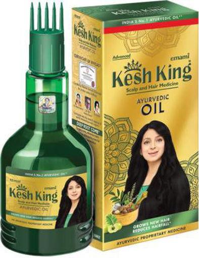 Picture of kesh king ayurvadic hair oil 300ml