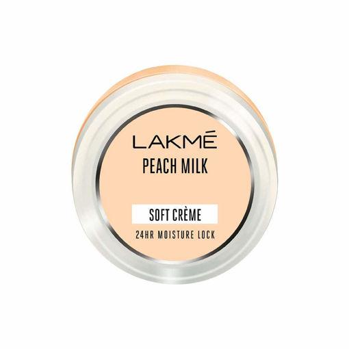 Picture of Lakme Peach Milk Soft Creme (Cream), Light Weight With 24Hr Moisture Lock, 65 g