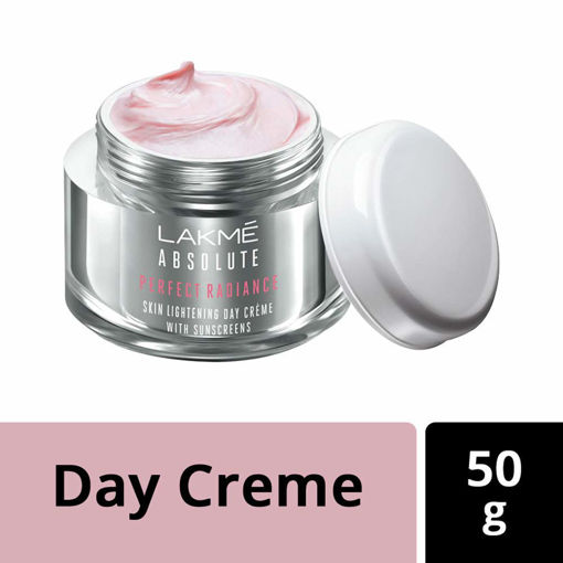 Picture of Lakme Absolute Perfect Radiance Skin Brightening Day Crème (Cream) With Sunscreen SPF 20 PA++, 50 g