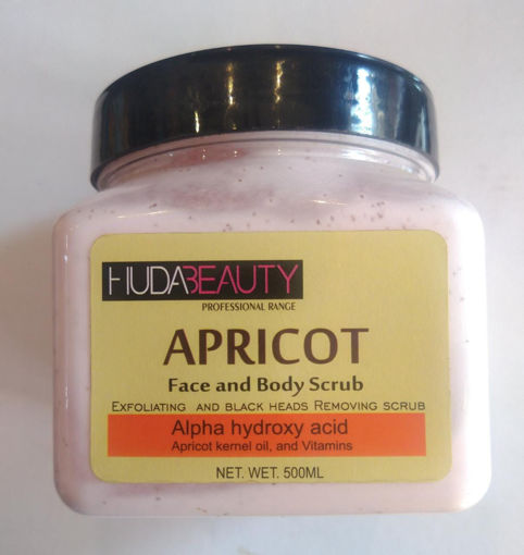 Picture of hudabeauty APRICOT face and body scrub 500 ml