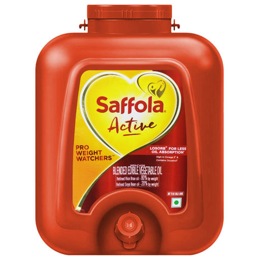 Picture of Saffola Active Oil  15 Litres With EASY POUR TAP