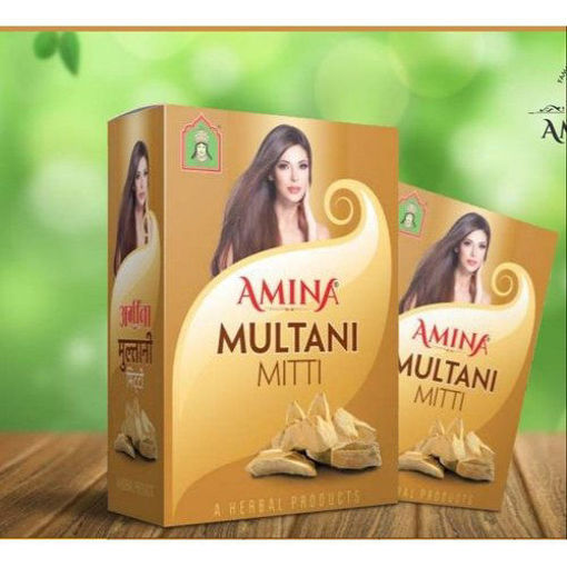 Picture of amina multani mitti powder, 80g