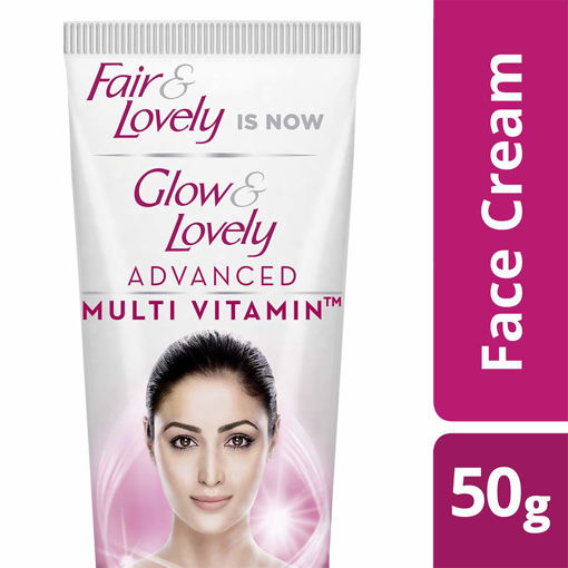 Picture of (50 g) Fair & Lovely Is Now Glow & Lovely Advanced Multivitamin Face Cream