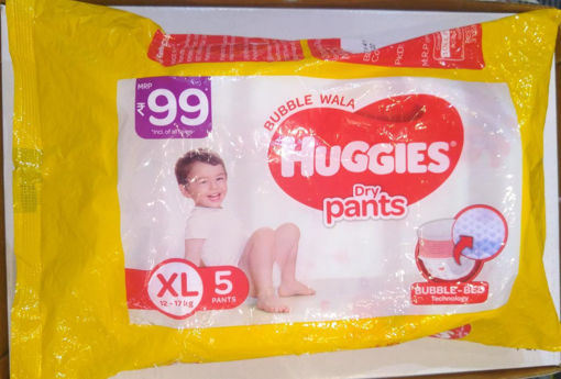 Picture of Huggies Dry Pants Size XL (12-17kg) - 5 Pants