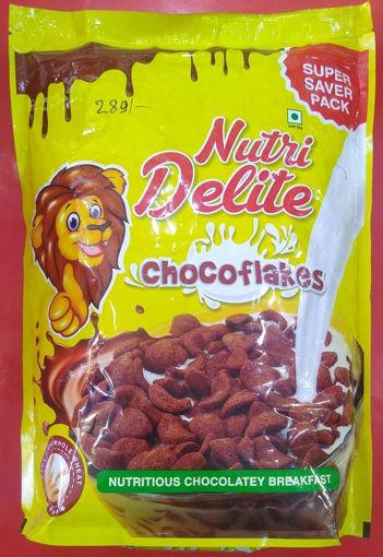 Picture of kellogg's nutri delite choco flakes 1.2kg