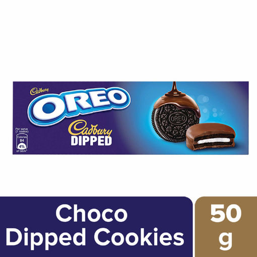 Picture of Cadbury Oreo Dipped Chocolate Cookie, 50 g