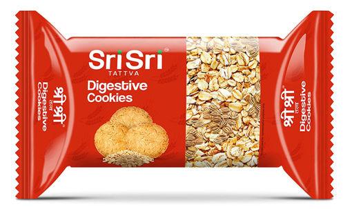 Picture of Sri Sri Tattva Digestive Cookies, 62.5g