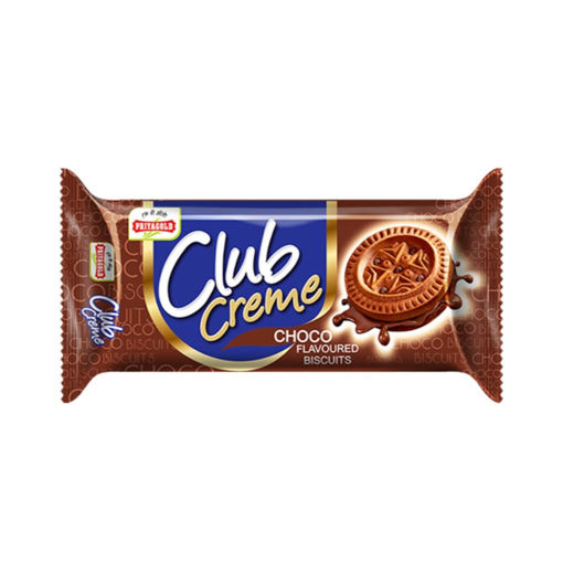 Picture of Priyagold Club Creme Choco Flavoured Biscuits, 86 G