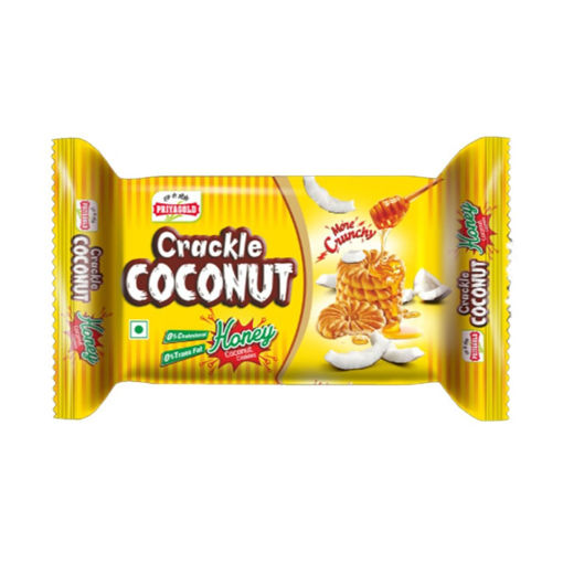 Picture of priyagold crackle coconut biscuits 80g