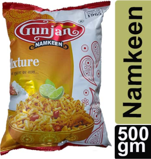 Picture of Gunjan Namkeen Mixture, 500g