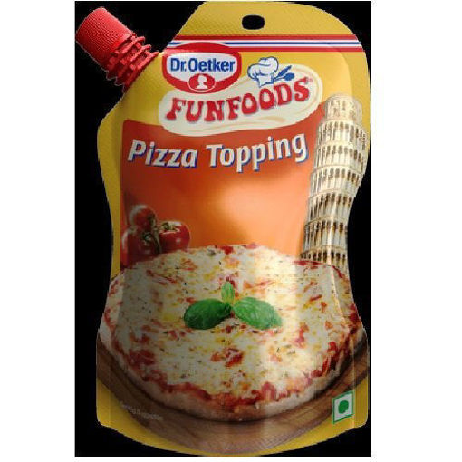Picture of Dr. Oetker FunFoods Pizza Topping, 100 g