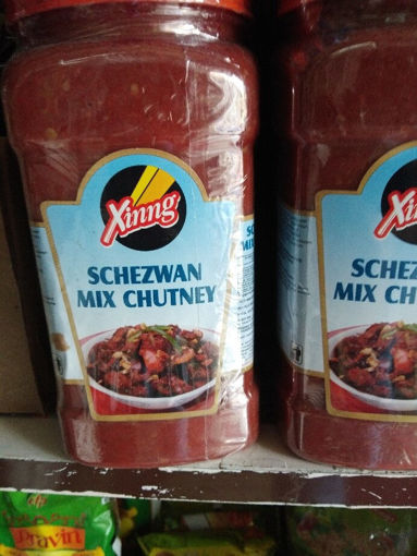 Picture of Xinng Schezwan mix  Chutney Bottle, 250gms