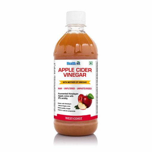Picture of healthvit apple cider vinegar, 500ml