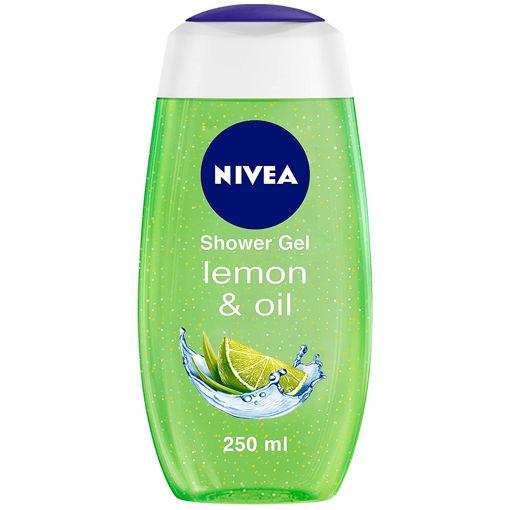 Picture of NIVEA Shower Gel, Lemon & Oil Body Wash, Women, 250ml