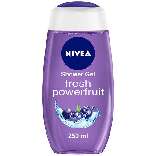 Picture of NIVEA Shower Gel, Power Fruit Fresh Body Wash, 250ml