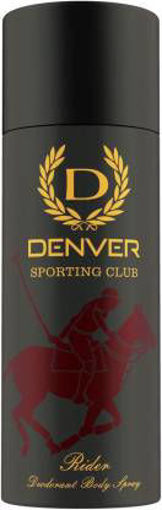 Picture of DENVER Sporting Club - Rider Deodorant Spray - For Men  (165 ml)