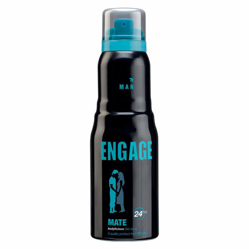Picture of Engage Mate Deodorant For Men, Citrus and Fresh, Skin Friendly, 165 ml