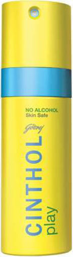 Picture of Cinthol Play Deodorant Spray - For Men  (150 ml)
