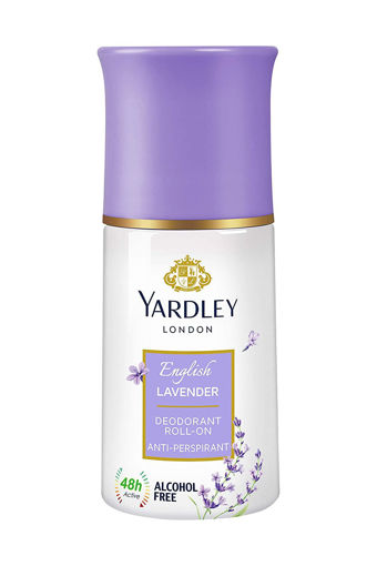 Picture of Yardley London English Lavender Anti Perspirant Deodorant Roll On for Women, 50ml