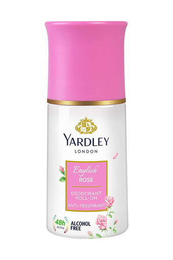Picture of Yardley London English Rose Anti Perspirant Deodorant Roll On for Women, 50ml