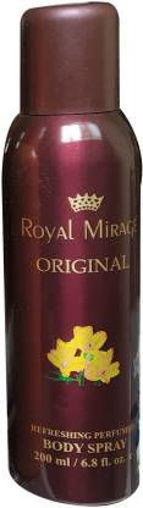 Picture of ROYAL MIRAGE ORIGINAL Deodorant Spray - For Men & Women  (200 ml)