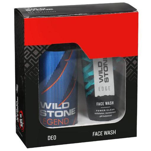 Picture of Wild Stone Legend Body Deodorant (Combo Wild Stone Edge Face Wash 50 ml) 150 ml