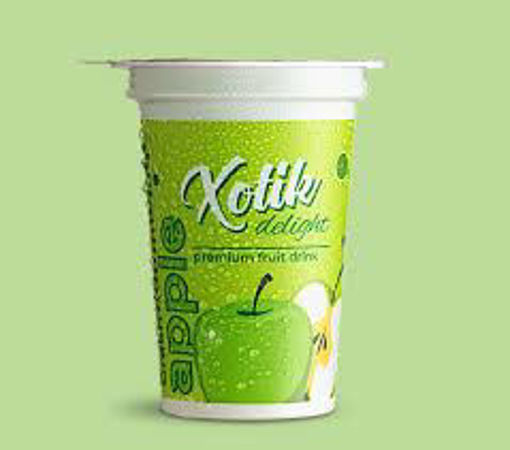 Picture of xotik delight fruit drink green Apple, 200ml