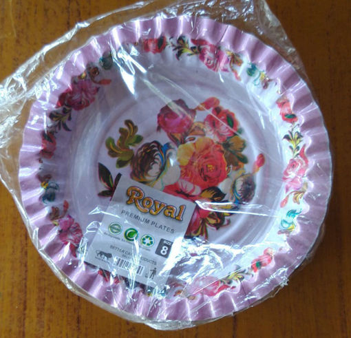 Picture of Nasta plate fancy size 8, Pack of 20pc