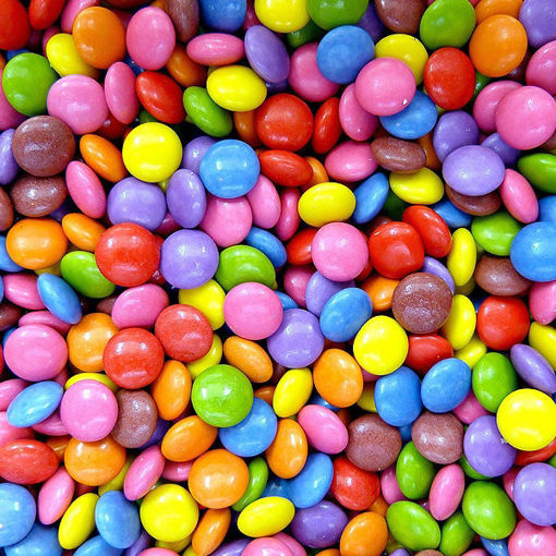 Picture of colorful Candy Bean Gems
