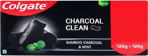 Picture of Colgate Charcoal Clean Toothpaste  (240 g, Pack of 2)