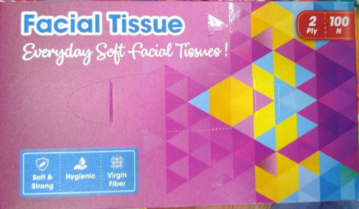 Picture of Facial Tissue 100 pics